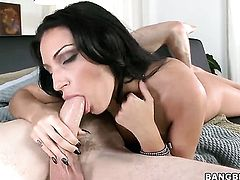 Milf fucks and gives blow job