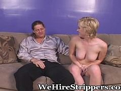 Young Babe Needs An Older Man To Show Her The Ropes