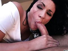 Toni Ribas loves juicy Andy San Dimass amazing body and fucks her mouth as hard as possible