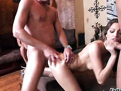Dane Cross pops out his man meat to fuck Jenna Haze
