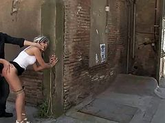 Honey licks and screws in glory hole.Babes seducing swimmers and fucking.