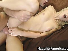 Charles Dera uses his throbbing love wand to bring Monique Alexander to the height of pleasure