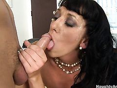 Alia Janine getting banged good and hard by Kris Slater