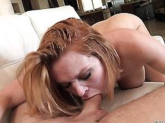 Krissy Lynn warms Manuel Ferrara up and takes his love wand in her butthole