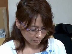 Aged Japanese donna Is Kinky To shag Her Son's freind