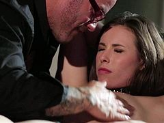 Jessica Drake is sitting in a room. Shes up for some bondage action. Her limbs are tied up shes about to take a rock solid jimmy into all of her fuck holes.