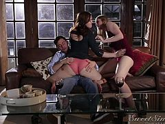 jodi and summer can't let go seth's big dick @ a love triangle #03
