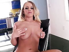 Britney Young cant live a day without toying her pussy