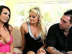 Holly hungers for a hung hunk other than her husband! She