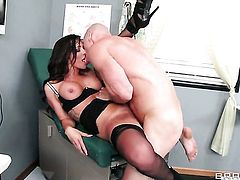 Destiny Dixon with massive jugs fucks a lot with hard dicked fuck buddy Johnny Sins before she gets enough