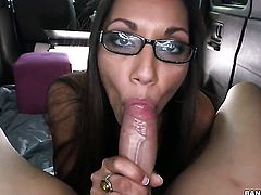 Latina in bang bus blowjob movies