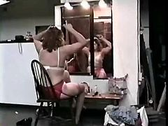 Milfs in Panties Catfight