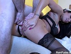 Romi Rain Gets Fucked Hard In The Ass