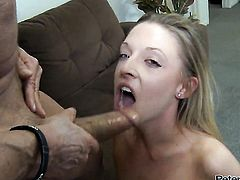 Peter North has unthinkable oral sex with Tristyn Kennedy