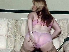 British slut Lucy plays with herself in various scenes