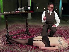 the fine art of nipple clamping