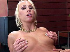 Carla Cox really loves cocks. She is going to do some titty fucking in the office where she will be having some awesome pov office sex with that pulsating big white schlong