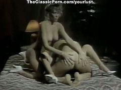 Ugly too pale blonde slut is fucked doggy while busty brunette enjoys mish