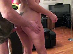 Coco Velvet finds herself giving throat job on her knees side by side with other slutty girls after playing cards all together. Watch easy chicks get face fucked. They love doing wild things.