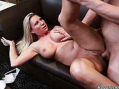 Xander Corvus pulls out his schlong to fuck Devon Lee
