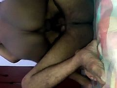 indian milf double penetrated in her cunt by me and friend