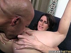 Shane Diesel fucks a white ass with his giant dick