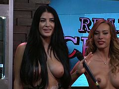 There's nothing bad you can say about Playboy Radio's Morning Show, especially when Playboy TV subscribers can see everything, that happens in the studio. Perhaps the only complaint is too much talking and not enough nudity, but when you see these honeys with their clothes off, it doesn't matter anymore.