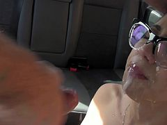 Cum Splattered Glasses