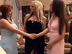 Experienced and super hot bombshells get involved in a nasty lesbians action