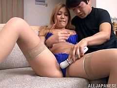 asian babe gets aroused and fucked
