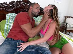 alice takes cock down her throat