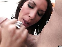 Kayla Carrera loves mans rock hard worm thrusting back and forth in the muff