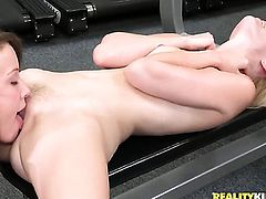 Blonde whore Malena Morgan groans as she plays with herself