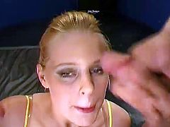 The Horny curvy youthful donna - and that nymph just unable to stop swallowing... No question, she is fucked to A limit... But all that precious cum..! THAT'S what KARINA is urging for! Of course, we have fullfilled her needs.