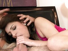 Lexi Bloom gets mouth banged the way she loves it