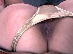 Amazing masturbation show with curvy ass Rei
