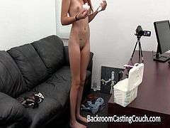 Skinny Amateur Cam Girl Assfucked and Anal Creampie
