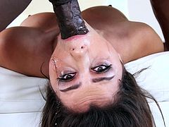 A hungry for cock babe gets really dirty, while sucking her ebony partner's big dick. Click to watch the horny man, stuffing his cock down her throat in different inciting positions! See slutty Valentina naked and enjoying to play lustful sexy games...