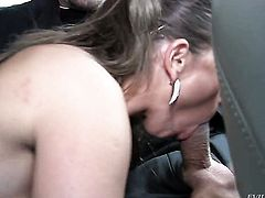Steve Holmes wants to drill sex crazed Sexy Susis booty forever before she gets her throat fucked