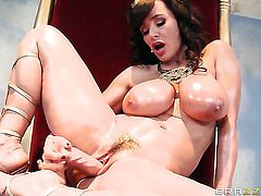 Johnny Sins is horny as hell and cant wait any more to fuck Senora Madison Ivy