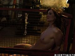 Blonde Kathia Nobili makes her lesbian dreams a come to life with Bailee