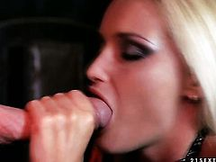 Blonde Kathia Nobili is just desperate for sex in this steamy fuck action