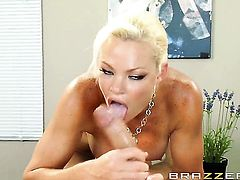 Rhylee Richards is addicted to dick sucking and Keiran Lee knows it