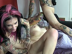 Burning Angel is all about badass chicks that love sex as much, as they love their ink. This trio is into some hardcore pussy fingering, rubbing and fisting. Also, there's some blowjob action happening here, and you know there will be some hot, nasty fucking going on here pretty soon. Watch it now!