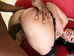 Danny Wylde gets turned on by London Keyes and then bangs her cunt