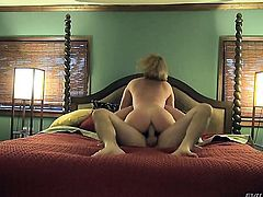 Manuel Ferrara makes Krissy Lynn scream and shout with his throbbing meat stick in her bum