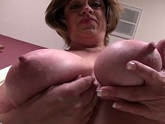 this granny has huge knockers