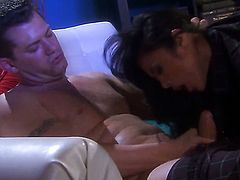 Kaylani Lei has some dirty fantasies to be fulfilled with guys sturdy ram rod in her mouth