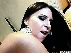 Kendra Secrets gets the mouth fuck of her dreams with horny fuck buddy