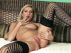 Vanessa Jordin shows her love for stripping on cam